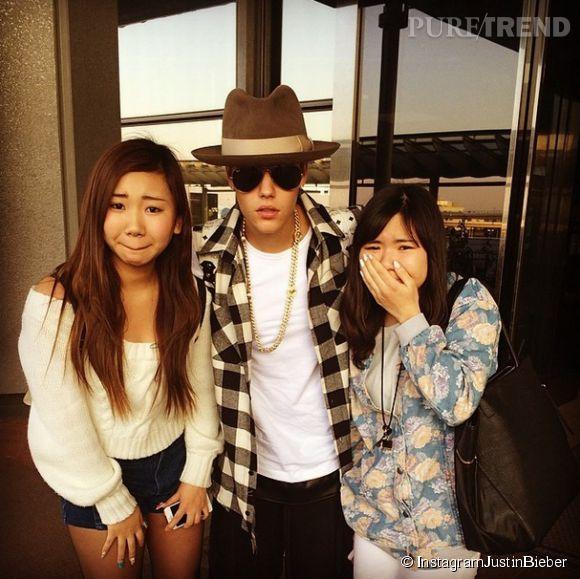 Justin Bieber s'est attiré la colère de millions de fans, à cause d'une imprudence diplomatique au Japon.