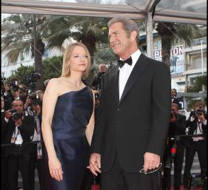 Mel Gibson et Jodie Foster en 2011 à Cannes.