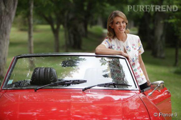"""Pour """"Les carnets de Julie"""", Julie Andrieu sillonne les route de Cornouaille, ce soir, 5 mai 2014, sur France 3."""