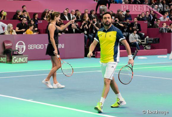 Cyril hanouna est un amateur de tennis comme le prouve sa participation la soir e organis e - Maison de cyril hanouna ...