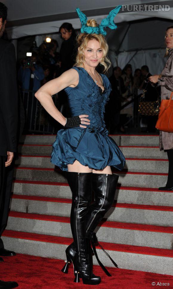 Madonna au Met Ball en 2009.