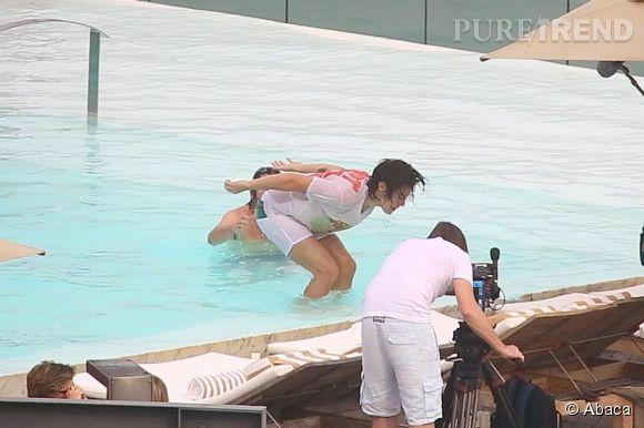 Harry Styles, pop star et acrobate.