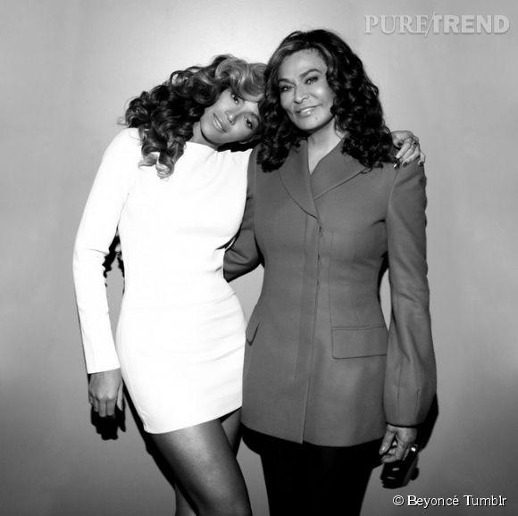 Beyoncé célèbre la fête des mères sur Instagram le 11 mai 2014.