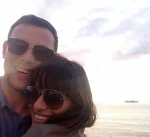 Cory Monteith et Lea Michele en juillet 2013.