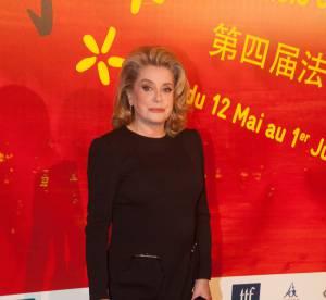 Catherine Deneuve : une classe folle au Festival du cinéma Chinois en France