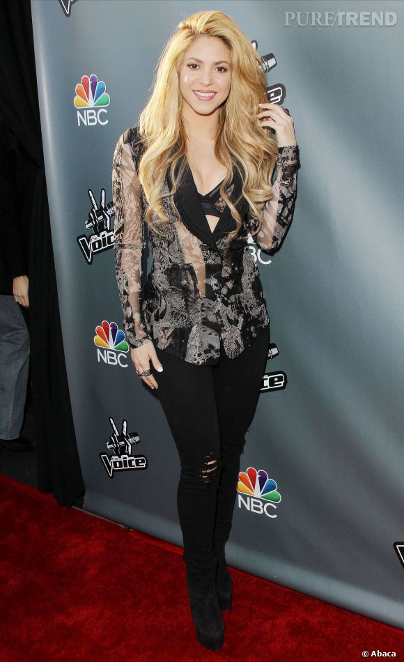 Sharkia a été juré de The Voice pour la saison 6 mais elle jette l'éponge pour la saison 7 afin de préparer sa tournée.