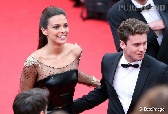 Marine Lorphelin a fait une apparition plus que remarquée sur la Croisette le 14 mai 2014 à la soirée d'ouverture du 67ème Festival de Cannes. Elle était accompagné par Bastian Baker, chanteur suisse et ancien participant à Danse avec les stars.