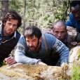 """Dans """"Les Francis"""", Jeff (Lannick Gautry, à gauche) et ses amis sont poursuivis par une famille corse."""