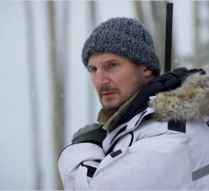 """Autre explorateur des contrées sauvages, Liam Neeson dans """"Le Territoire des Loups""""."""