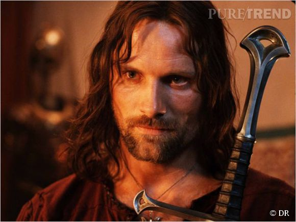 """Viggo Mortensen, le sexy Aragorn de la saga """"Le Seigneur des Anneaux""""."""
