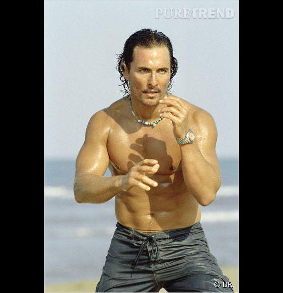 "Matthew McConaughey joue Dirk Pitt dans ""Sahara""."
