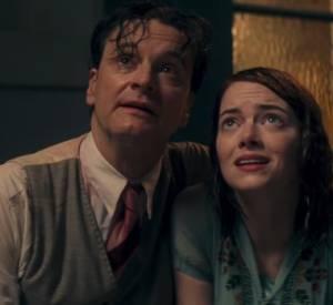 """Colin Firth et Emma Stone, réunis dans """"Magic in the Moonlight"""", le film de Woody Allen."""