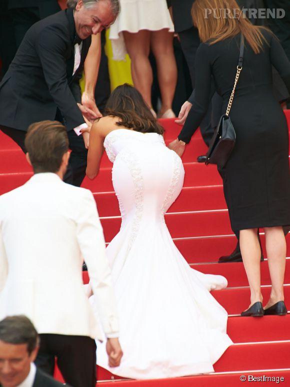 Eva Longoria à Cannes en mai 2014.