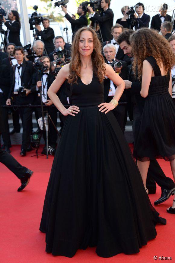 Zoe Bruneau lors de la montée des marches pour la cérémonie de clôture du 67ème Festival de Cannes.