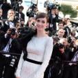 Paz Vega en Ralph & Russo et parée de bijoux Chopard lors de la montée des marches pour la cérémonie de clôture du 67ème Festival de Cannes.