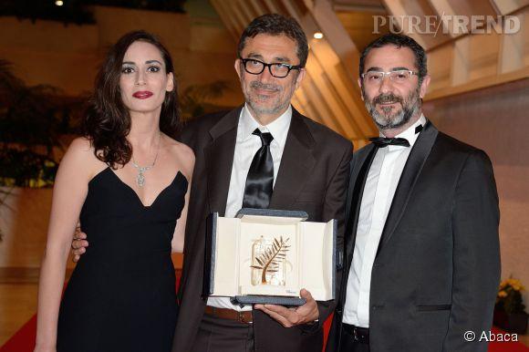"""Le réalisateur turque Nuri Bilge Ceylan a reçu la Palme d'Or pour """"Winter Sleep""""."""