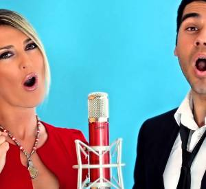 "Eve Angeli et Adrien Abelli (""The Voice 3"") reprennent ""You raise me up"" de Josh Groban."