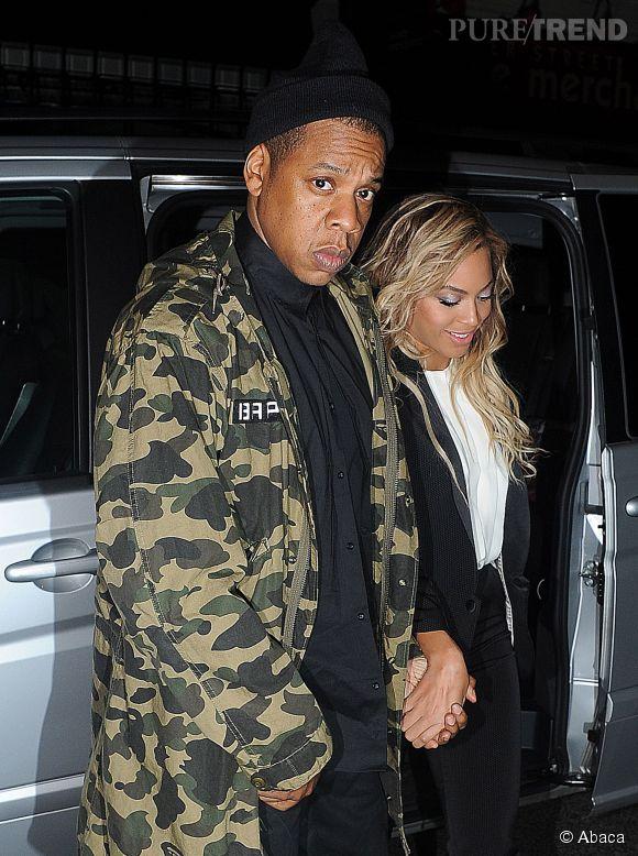 Jay-Z et Beyoncé en 2014.