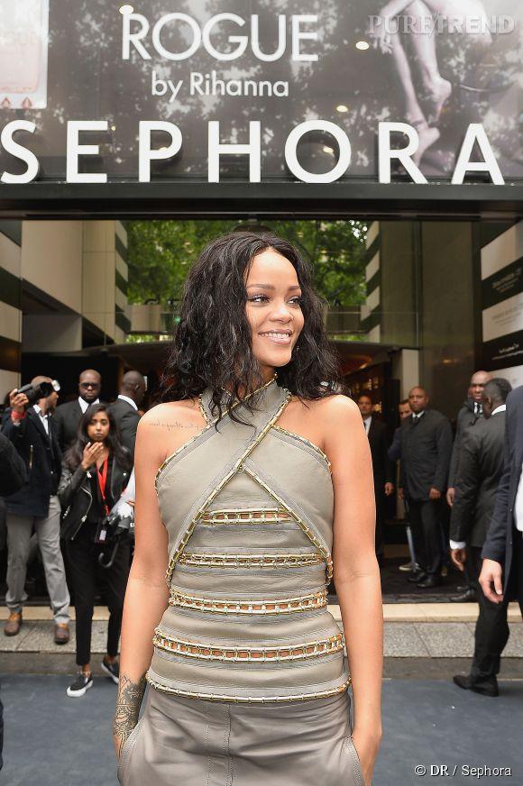 Champs 2014 Rihanna Le Juin Des Elysées 4 Sephora Présente Au Était TK351cuJlF