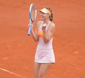 Roland Garros 2014 : Maria Sharapova et son affolante petite robe rose en finale