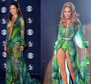 Jennifer Lopez : sa mythique robe Versace ultra-sexy lui va toujours !