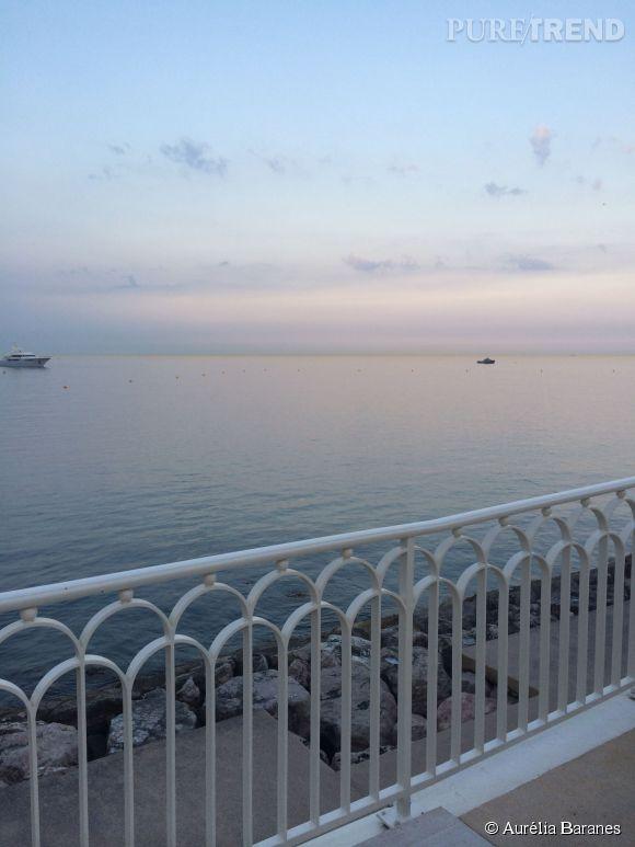 La vue du Monte-Carlo Bay lors de la soirée Syfy et Universal au Festival de TV de Monte-Carlo 2014