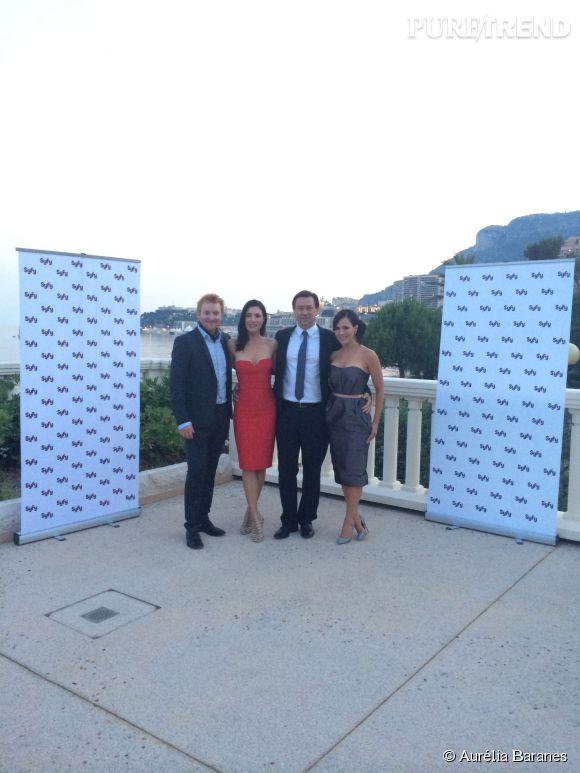 Le casting de Defiance lors de la soirée Syfy et Universal au Festival de TV de Monte-Carlo 2014