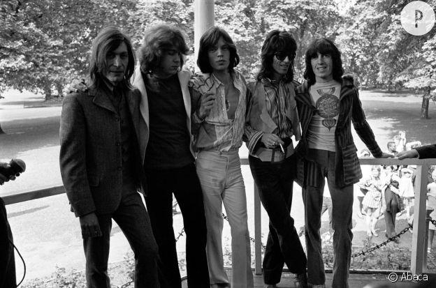 Les Rolling Stones en 1969