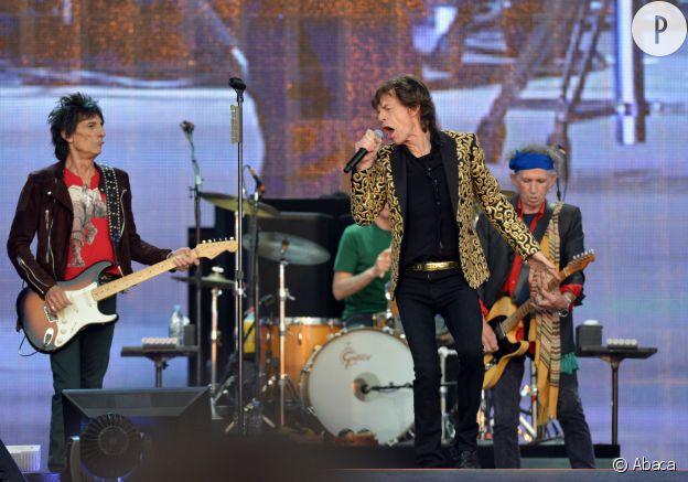 Les Rolling Stones en 2013.
