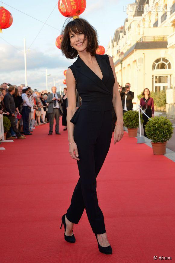 Sophie Marceau lors de la cérémonie de clôture du Festival du film Romantique de Cabourg le 14 juin 2014.