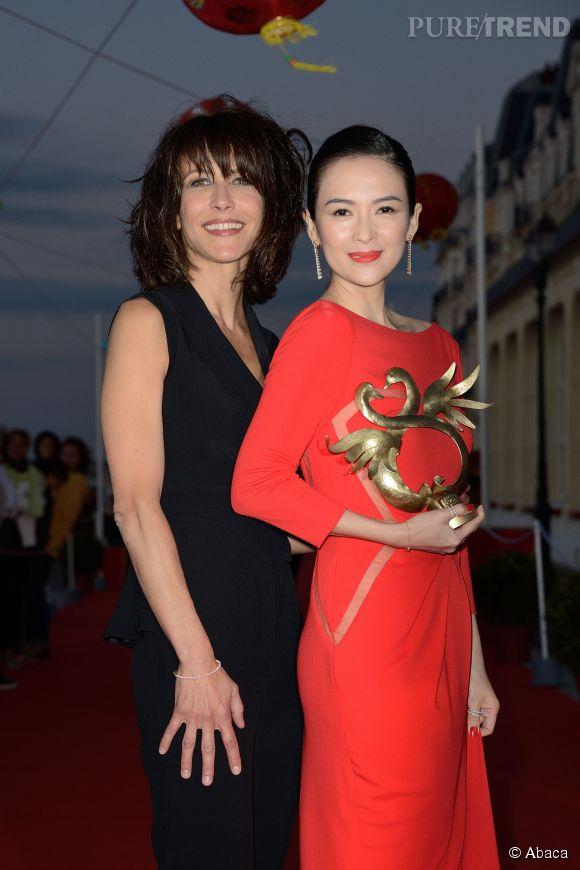 Zhang Ziyi a reçu le prix d'honneur lors de cette édition du festival du film romantique de Cabourg.