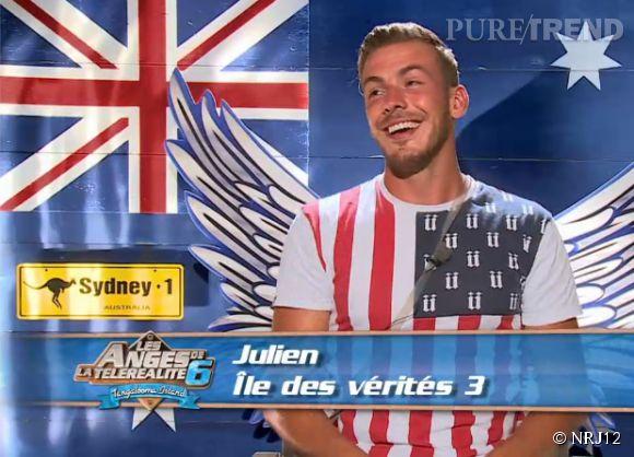 Julien Bert des Anges de la télé-réalité 6 a mis une biffle à Frédérique.