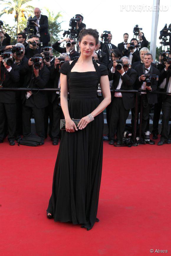 Marie Gillain au Festival de Cannes, piquante.