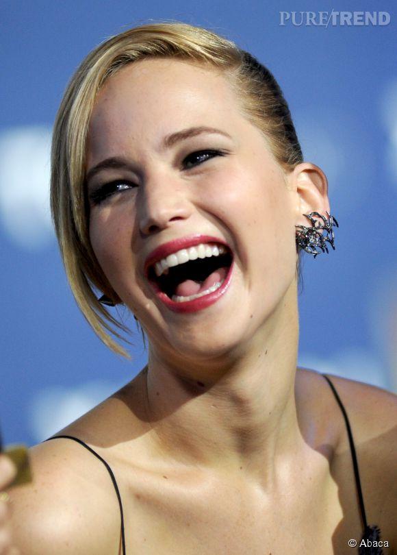Jennifer Lawrence, une fille ultra drôle.