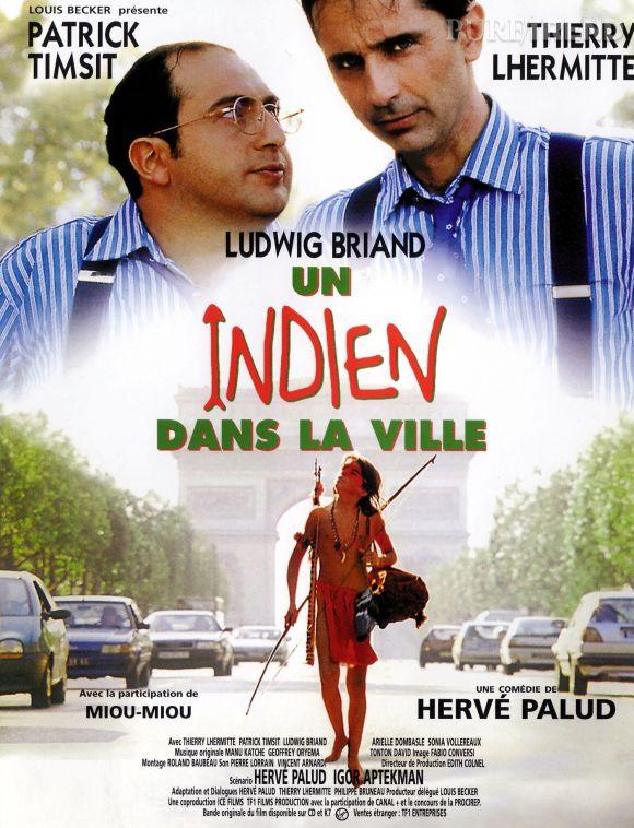 """""""Un indien dans la ville"""" avec Patrick Timsit et Thierry Lhermitte."""