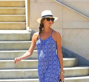 Stacy Keibler, la robe longue estivale pour baby bump voyant...à shopper