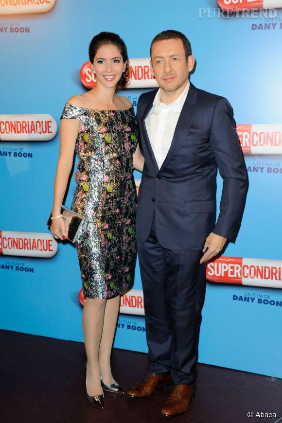 Dany Boon et sa femme, Yael, avec qui il s'est installé en Californie.