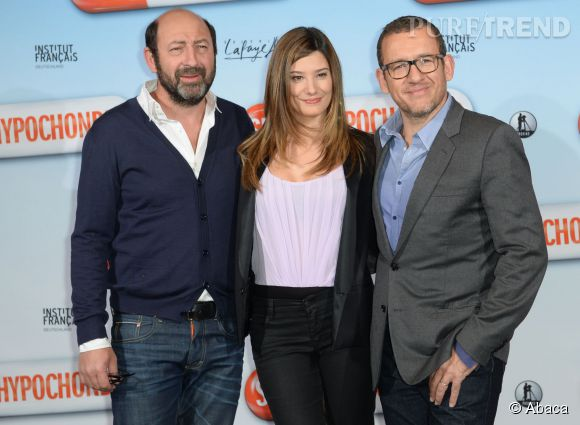 """Dany Boon, Kad Mérad et Alice Pol, le casting de """"Supercondriaque""""."""