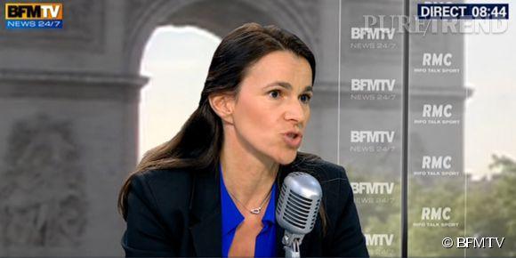 Sur BMF TV Aurélie Filippetti n'a pas caché sa déception devoir Arthur s'exiler en Belgique.