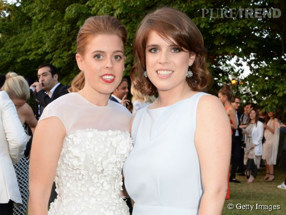 Les Princesses Beatrice d\u0027York et Eugenie d\u0027York \u0026agrave; la Summer Party