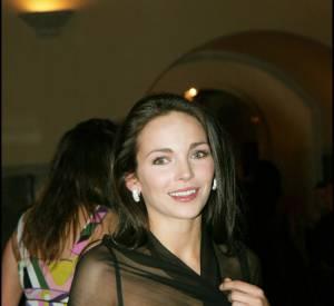 Claire Keim ose la transparence chez Dior en 2004.