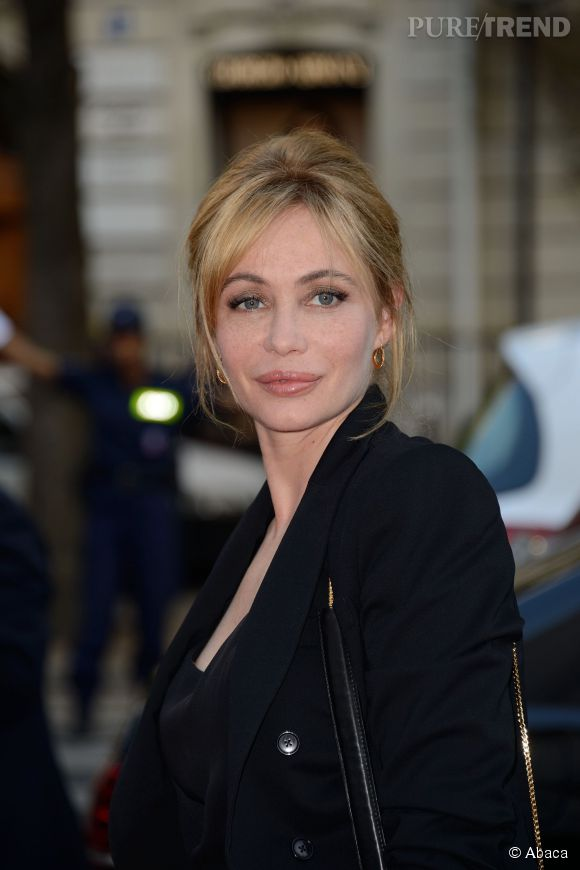 Emmanuelle Béart au 20ème Gala Musique contre l'oubli à Paris.