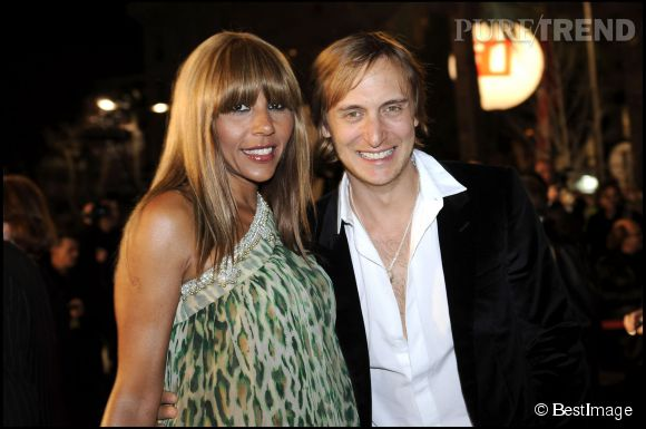 Cathy et David Guetta, LE couple de la night.
