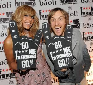 Cathy et David Guetta, les rois des soirées parisiennes (et pas que).