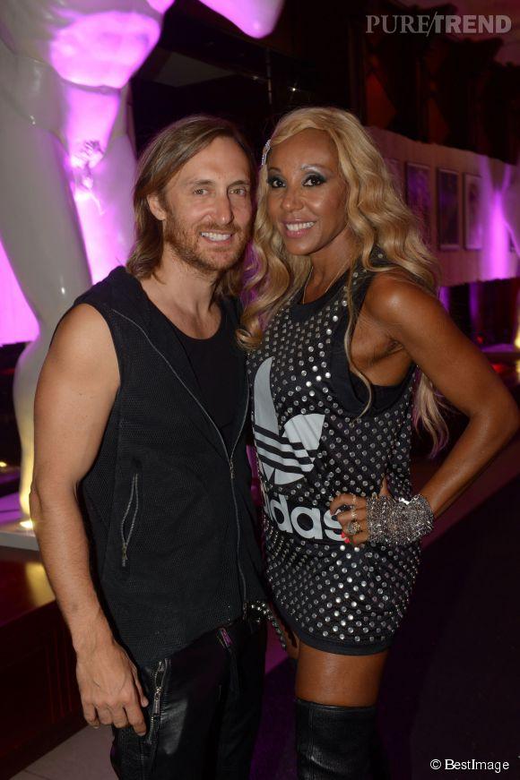David et Cathy Guetta, l'an dernier à Cannes.