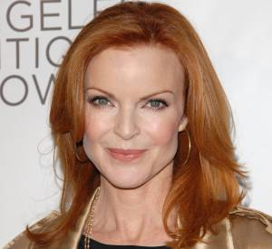 "Marcia Cross, aka Bree van de Kamp, la flamboyante rouquine de ""Desperate Housewives""."