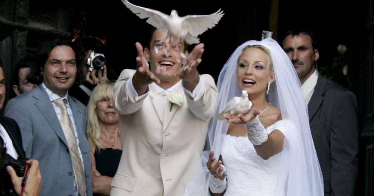 Elodie gossuin et bertrand lacherie se sont mari s compi gne le 1er juillet 2006 - Elodie gossuin et bertrand lacherie ...