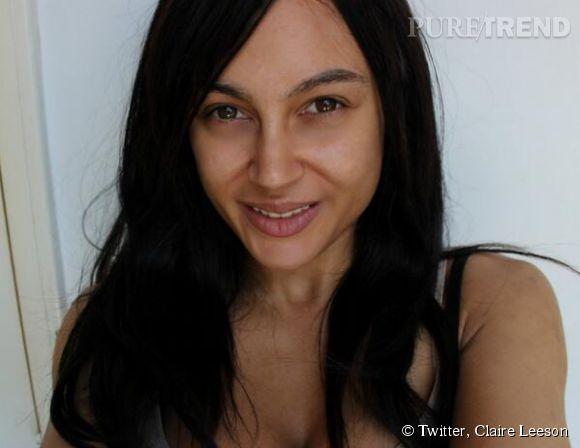 Comme Kim, Claire Leeson se laisse tenter par un petit Nomakeup Selfie !