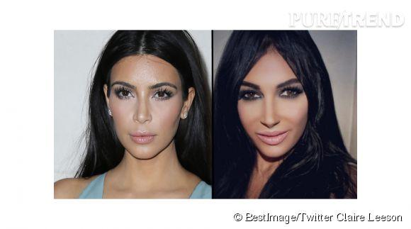 Claire Leeson aime tellement Kim Kardashian qu'elle fait tout pour lui ressembler.