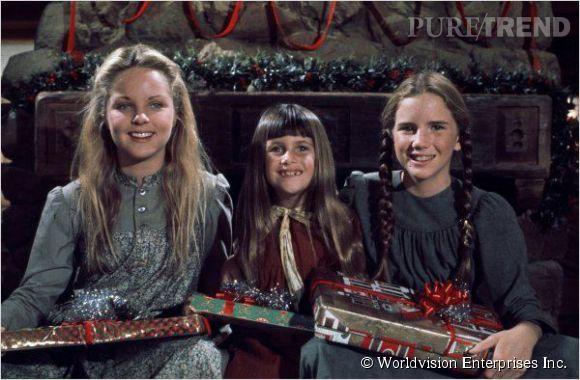 """Melissa Sue Anderson, Sidney Greenbush et Melissa Gilbert dans """"La petite maison dans la prairie""""."""